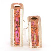 Blaze Orange Blankwerks paua abalone pen blank - Mistral/Leveche FP/RB